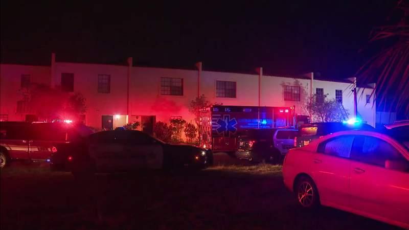 Fire erupts in bedroom of apartment in Pembroke Park