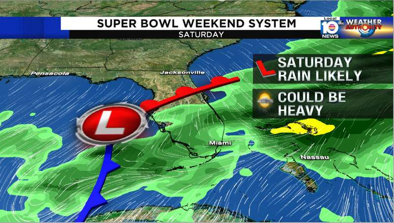 Saturday could be quite wet