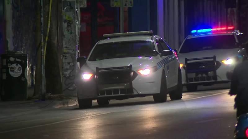 Curfew is in effect in Miami.