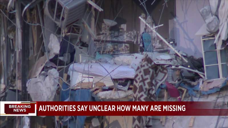 35 people rescued, many others missing after partial building collapse in Surfside.