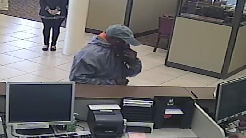 Bank robber at BB&T Bank branch in Boca Raton on Jan. 31, 2020.