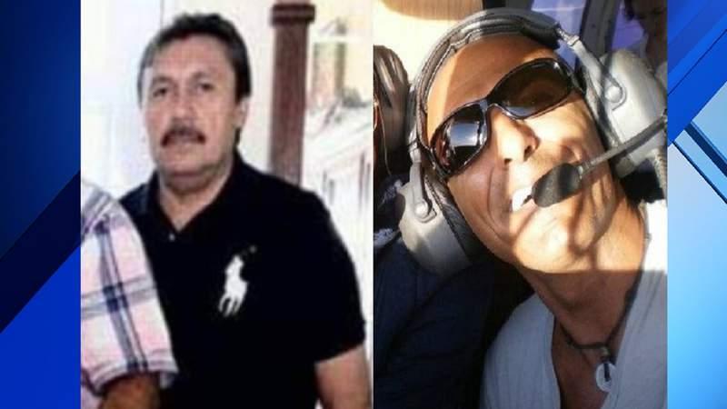 Joaquin Ricalde, 56, of Miami, (left) and Nissan Giat, 53, of Miramar.