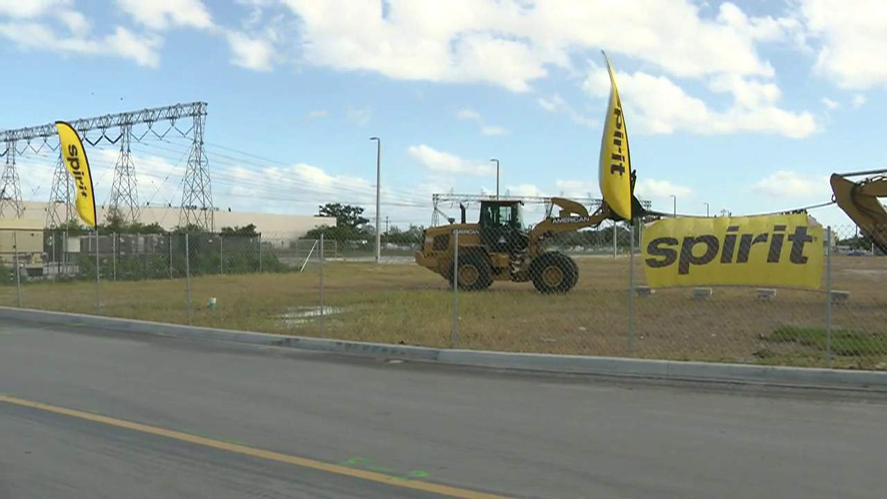 Spirit Airlines stays grounded in South Florida, despite moving operations control center