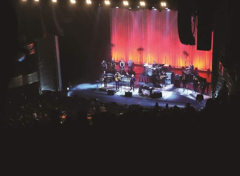 Steely Dan at the Met in Philadelphia.