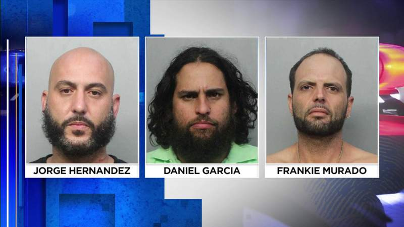 Trio faces attempted murder charges in Miami-Dade