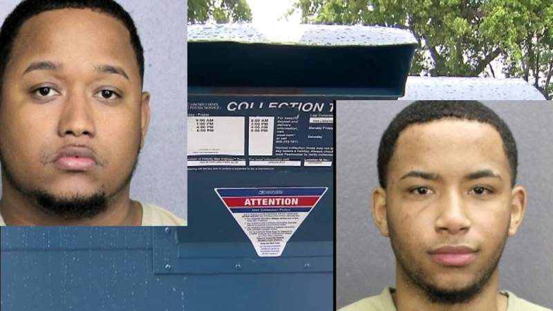 2 men accused of targeting mailboxes and stealing election ballots in Lighthouse Point