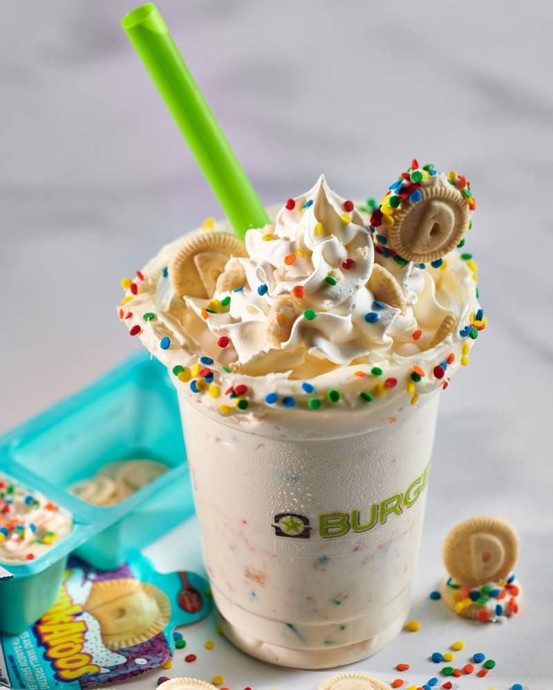 The Dunkaroos shake will be sold at all Miami BurgerFi locations for a limited time.