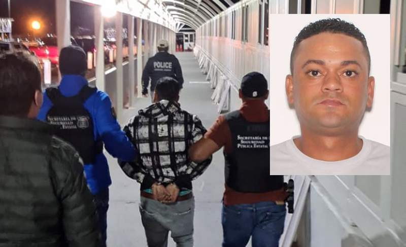 Authorities in northern Mexico take 31-year-old Mayque Gomez into custody.