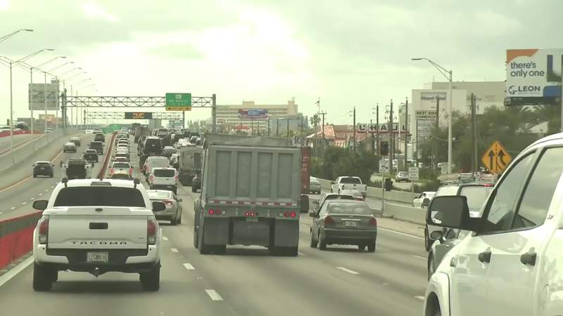 Palmetto Expressway drivers face more construction projects