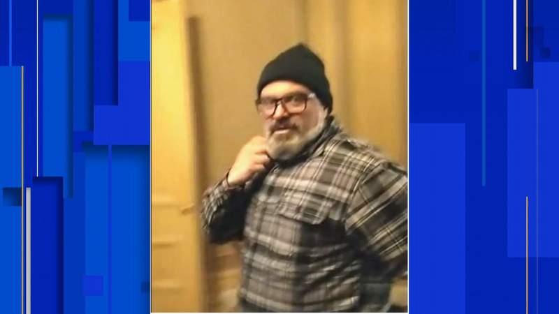 Picture from federal investigators of Joseph Biggs, 27