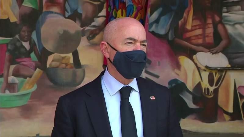 Homeland Security secretary meets with Haitian-American leaders in Miami