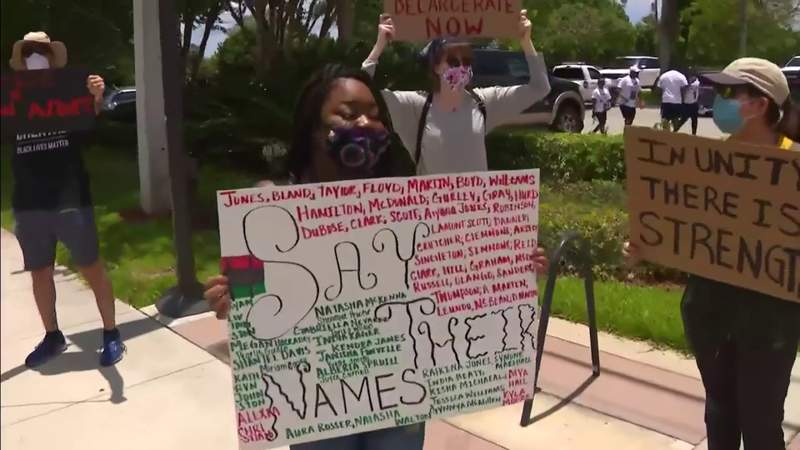 Protests in Broward County