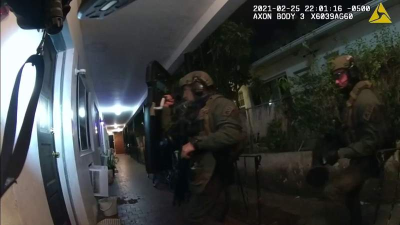 Officers rescue victim of human trafficking during narcotics operation in Miami Beach