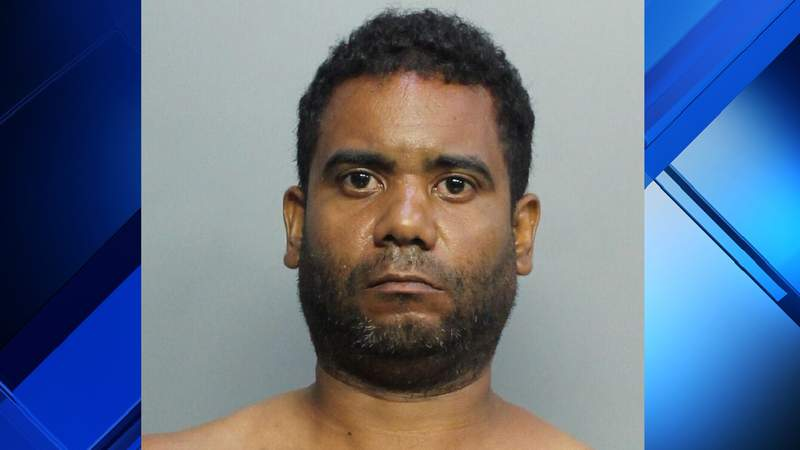 Angel Torres Peraza is accused of robbing a McDonald's employee at gunpoint.