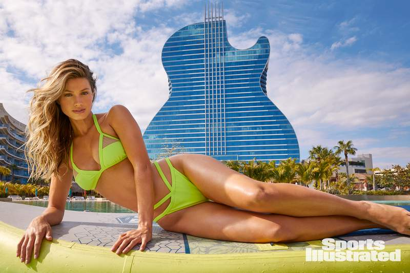 """Seminole Hard Rock Hotel & Casino Hollywood celebrates the Sports Illustrated Swimsuit 2021 issue at their event, """"SI Swimsuit Garden."""""""
