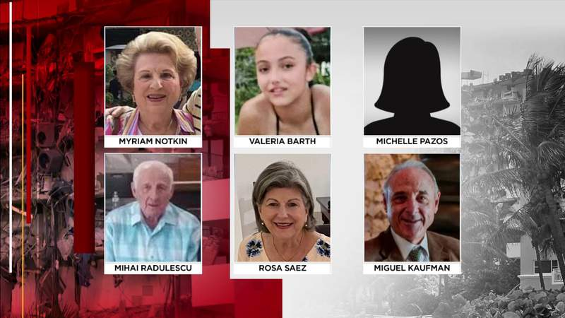 Surfside building collapse: 6 more victims identified; death toll remains at 97