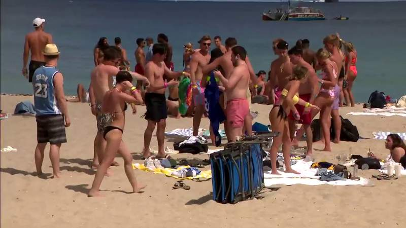 Fort Lauderdale spring break has avoided issues of Miami Beach