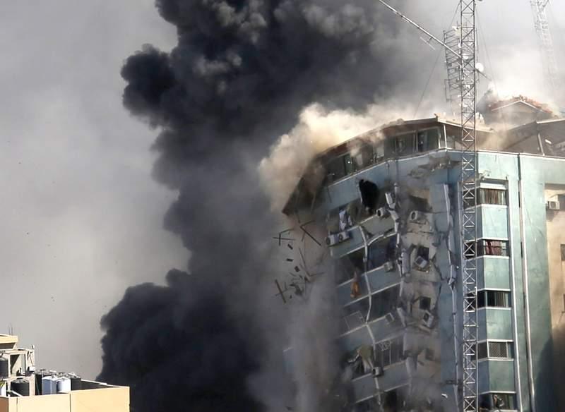 oficina de AP en Gaza