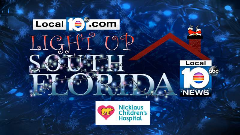 Show us your holiday lights and you might see them on Local 10 News or one of our social media accounts.