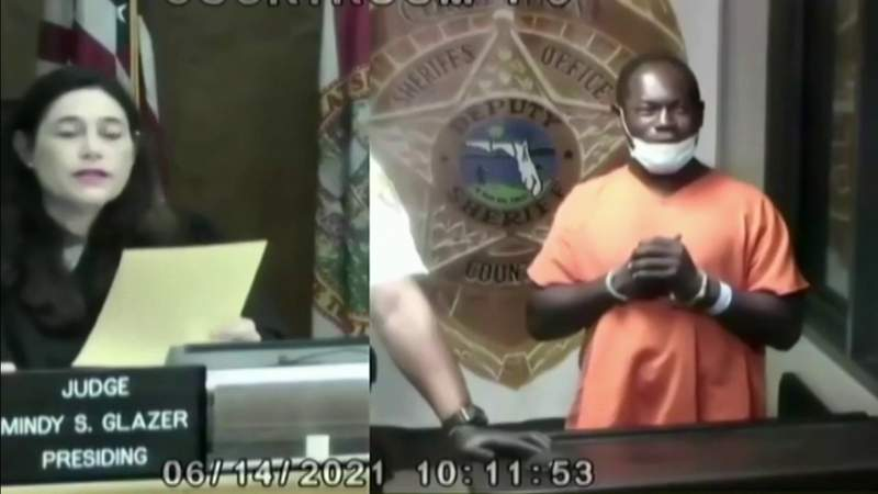 Man accused of beating homeless man appears in bond court
