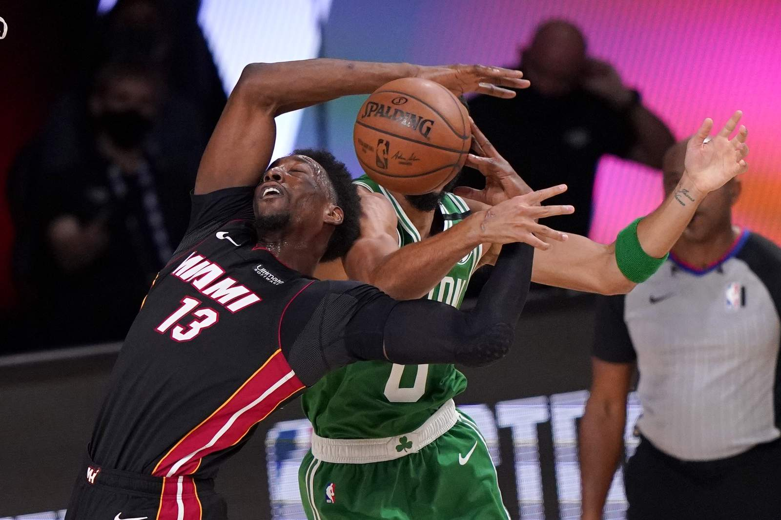 He S A Herro Heat Top Celtics Move A Game From Nba Finals