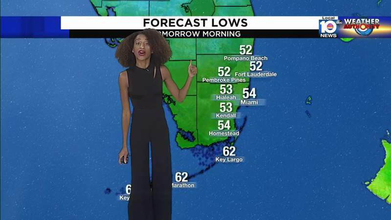 Chilly weather incoming as South Florida prepares for taste of winter weather