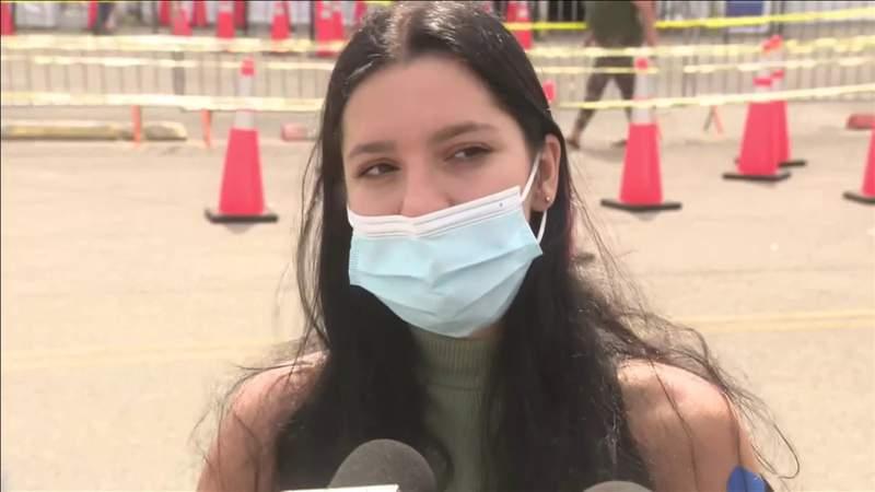 Some hesitancy as J&J vaccines resume in Florida