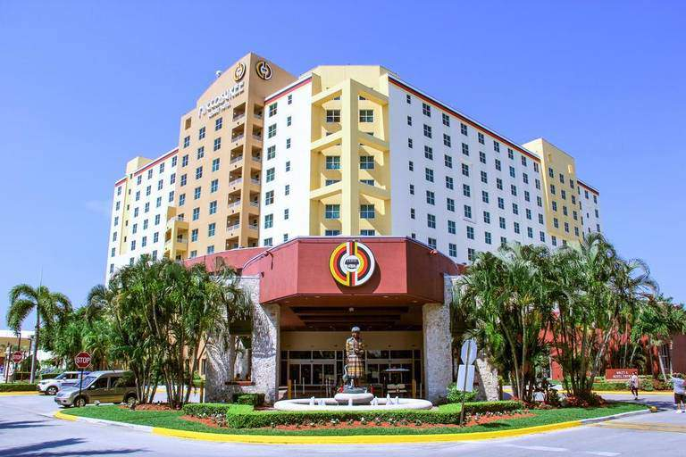 Miccosukee Resort & Gaming re-opened May 17, 2020 after being closed for almost two months after the coronavirus pandemic.