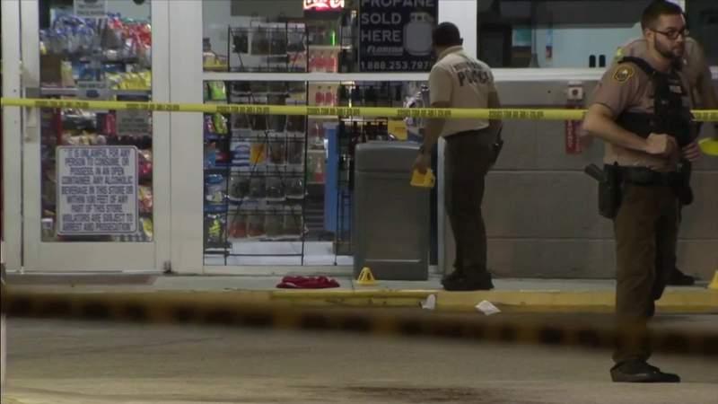 2 shot at gas station in northwest Miami-Dade
