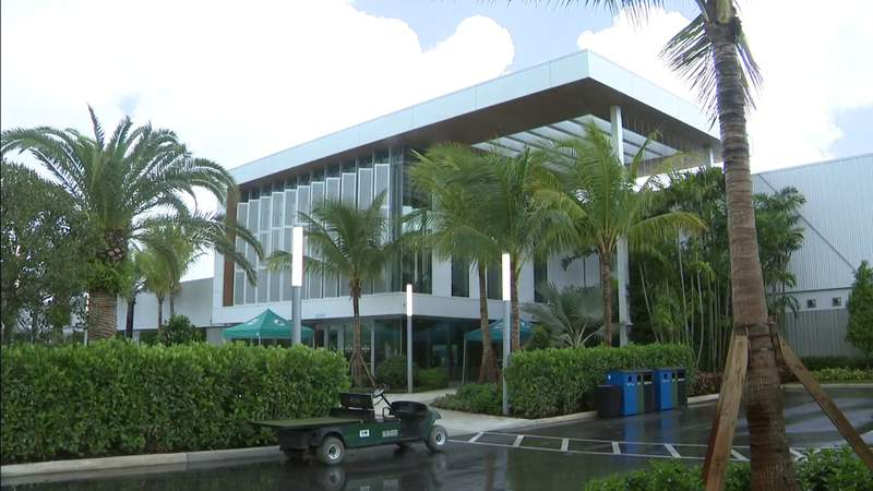 Dolphins hold grand opening for amazing new training facility