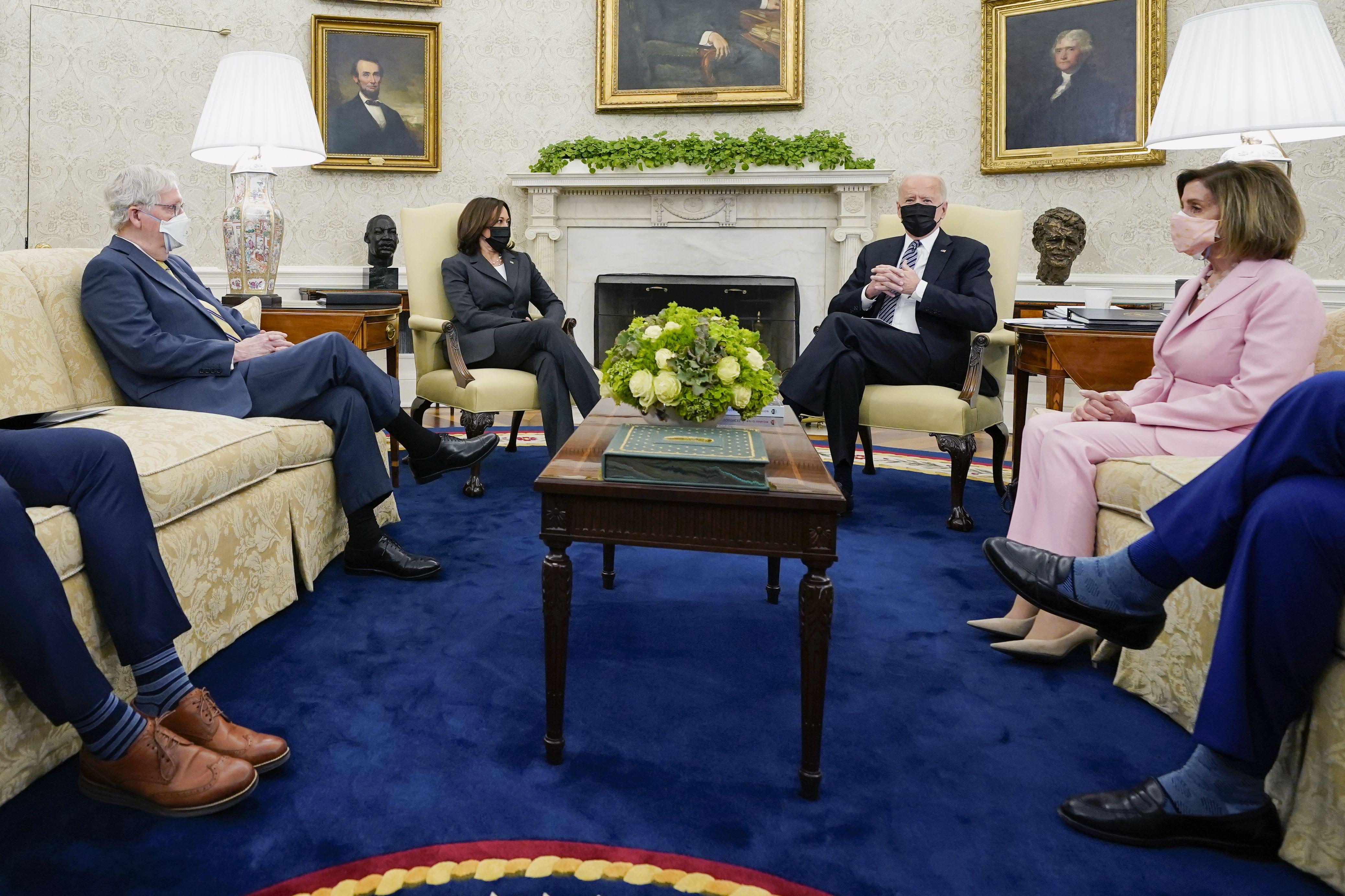 Biden and Congress face a summer grind to create legislation