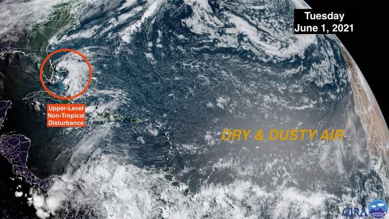 La temporada de huracanes comienza con la madre naturaleza jugando una mano diferente