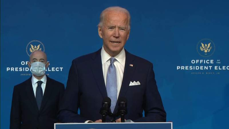 President-elect Biden begins introducing cabinet members as transition moves forward