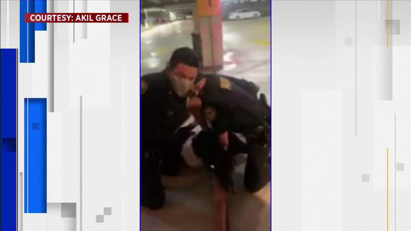 Rough arrest caught on camera at Seminole Hard Rock Hotel & Casino