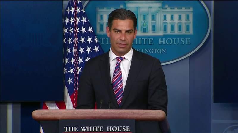 Miami Mayor Suarez part of bipartisan meeting with Biden at White House