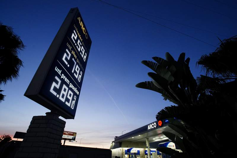We may be seeing the plateau of the gas price rise, the American Automobile Association says.