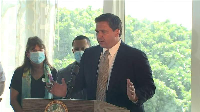 Florida Gov. Ron DeSantis lifts restrictions on restaurants and other businesses