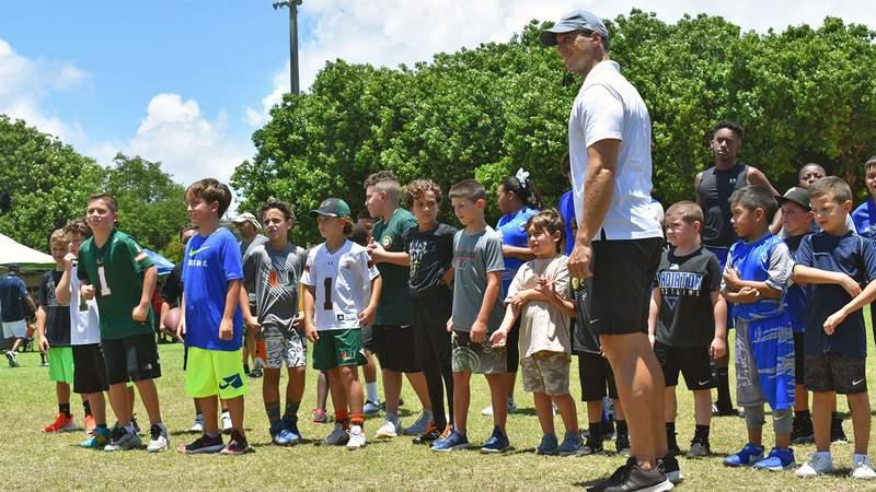 Alex Pou runs a nonprofit organization to help improve educational programs at public schools in Miami-Dade.