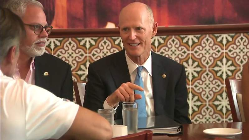 Sen. Rick Scott says 'excess government spending' is hurting economy
