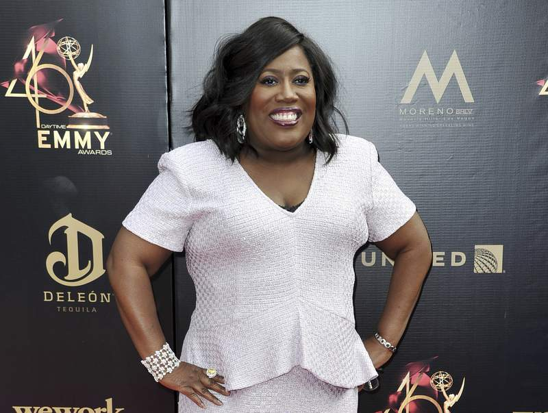 FILE - This May 5, 2019 photo shows Sheryl Underwood at the 46th annual Daytime Emmy Awards on May 5, 2019, in Pasadena, Calif. Underwood will host the 48th annual ceremony on June 25 in Los Angeles. (Photo by Richard Shotwell/Invision/AP, File)