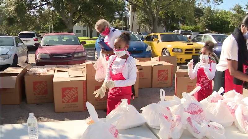 Salvation Army of Broward County delivers in Fort Lauderdale