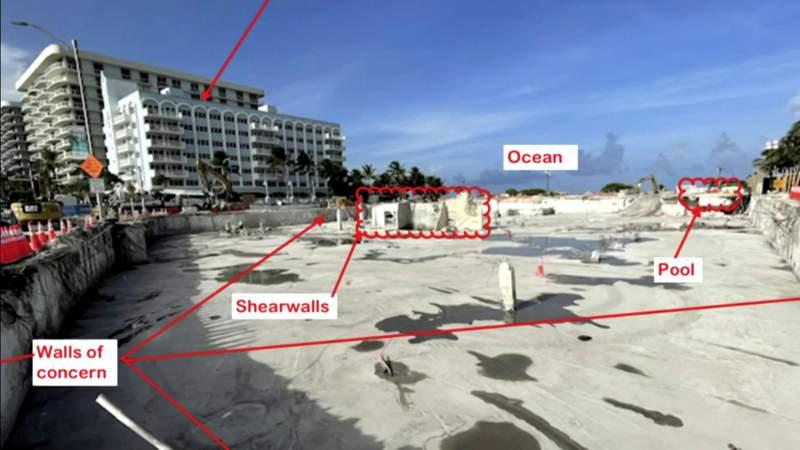 El ingeniero contratado por Surfside todavía siente que Champlain Towers South es un peligro inminente
