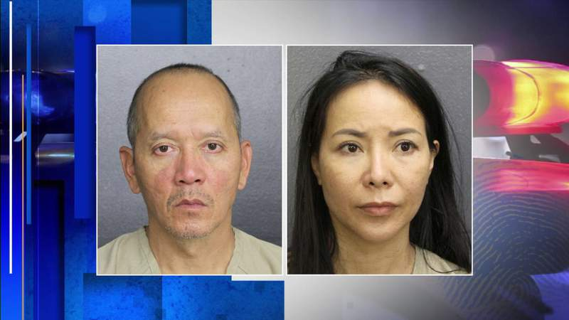 Couple left 3-year-old alone to go gamble, cops say