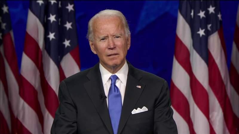 Biden accepts nomination during Democratic National Convention