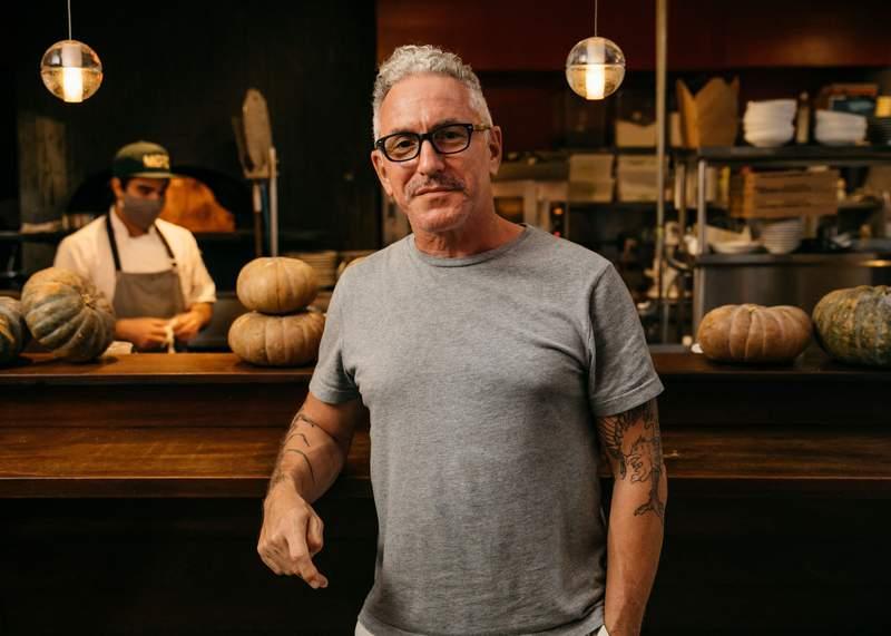 Chef Michael Schwartz at Michael's Genuine Food & Drink.