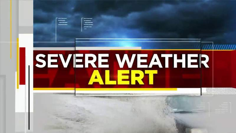 Weather Authority: Severe Weather Alert for Sunday, 4/26/20