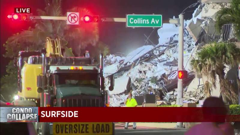Search-and-rescue operation after Surfside building collapse to continue Friday morning – WPLG Local 10
