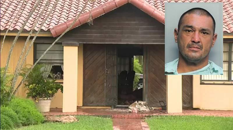 Hombre de 36 años encerró a su mamá en un closet e incendió su casa