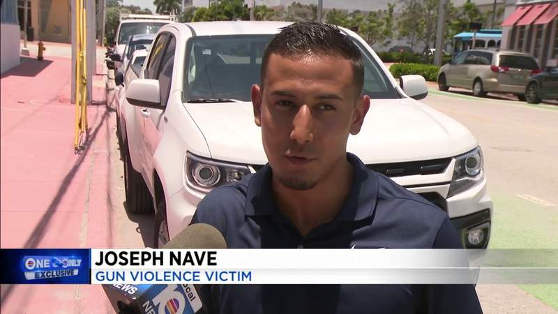 Man says woman shot him during road rage incident in South Beach