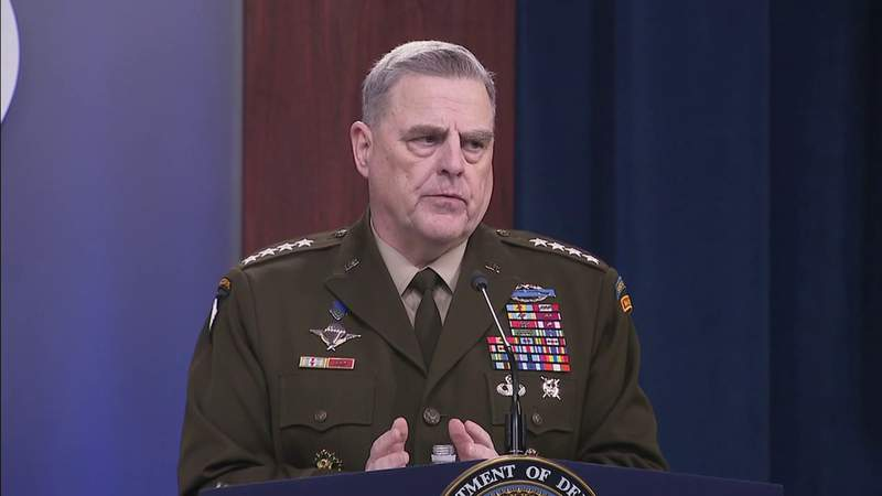 New book reveals Gen. Mark Milley feared Trump could 'go rogue'